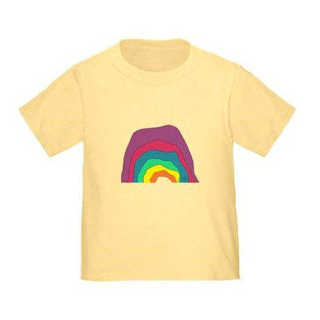 toddler color rainbow t-shirt