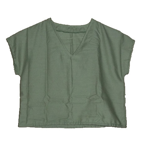 girl's v-neck pullover blouse