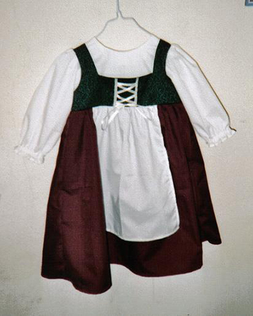 toddler girl's Morganna renaissance peasant dress