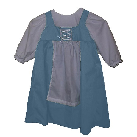 toddler girl's Lydia renaissance peasant dress