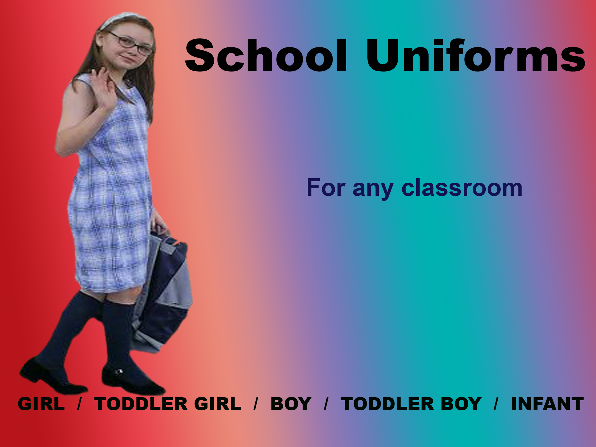 Rosebud Children's Fashions by Gothique Rose Apparel School Uniforms - For every classroom